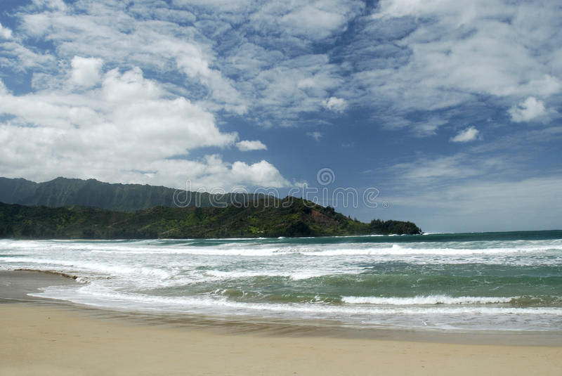 Download Kauai Beach stock image. Image of surf, ocean, seashore - 14601363