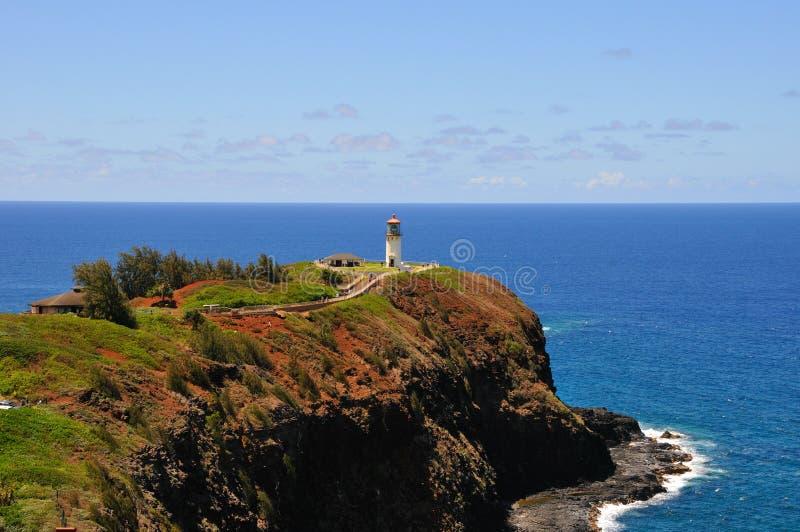 Kauai latarnia morska obrazy royalty free