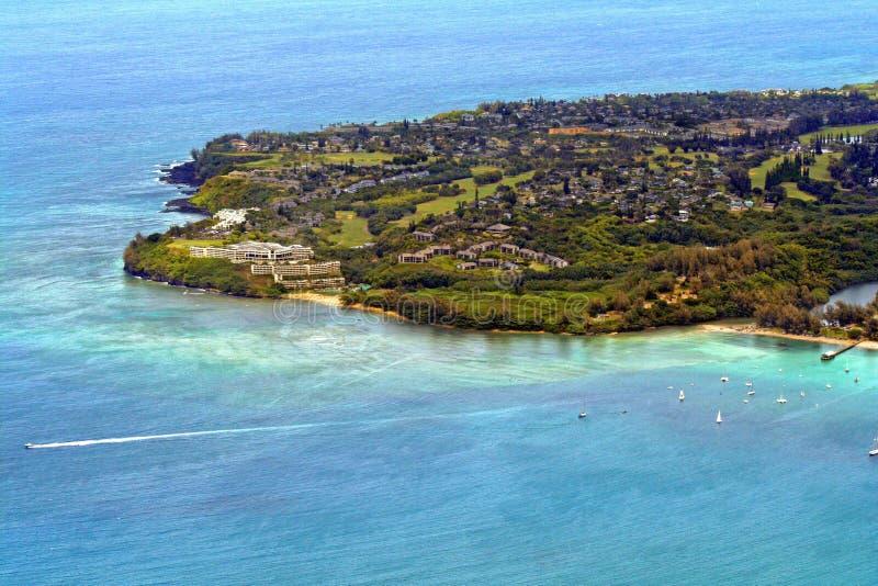 Kauai-Ufer lizenzfreies stockbild