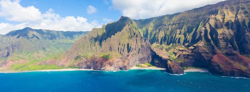 Kauai van helikopter stock foto