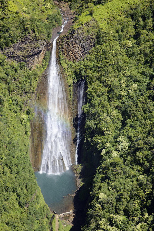 Free Kauai Waterfall Stock Image - 27389001