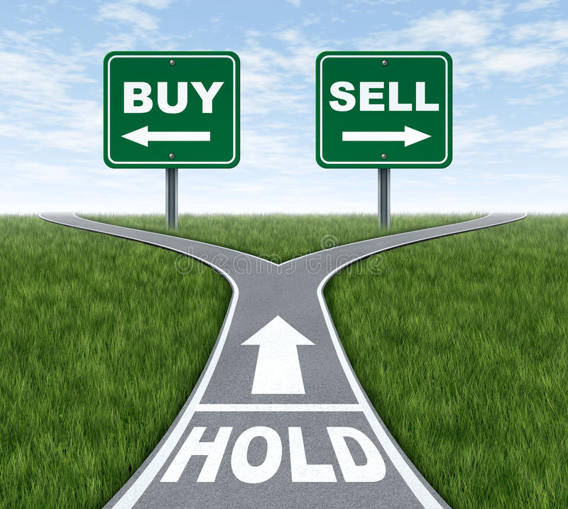 Kauf-Verkaufs- oder Einfluss lizenzfreie abbildung