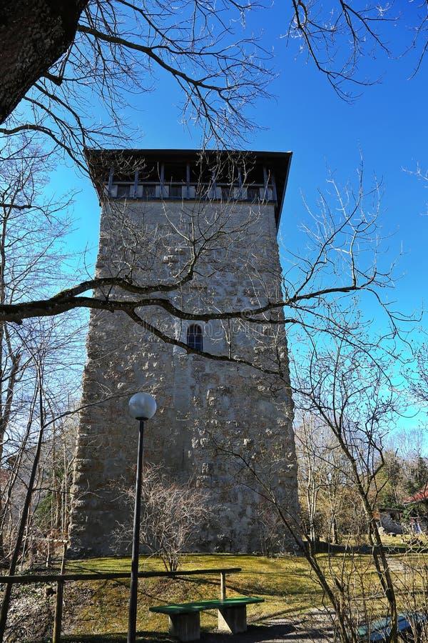 Kaufbeuren é uma cidade em Baviera fotografia de stock