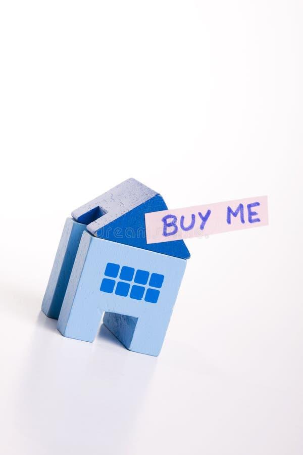 Kaufen Sie dieses Haus lizenzfreie stockfotografie
