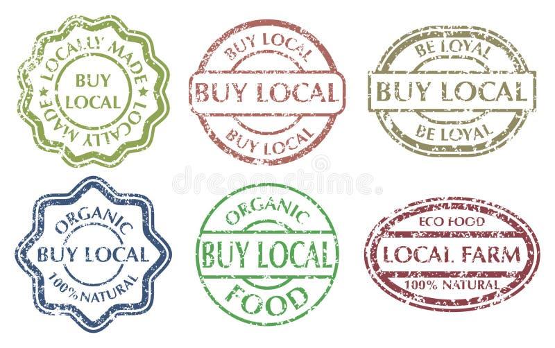 Kaufen Sie lokales Zeichen lizenzfreie abbildung