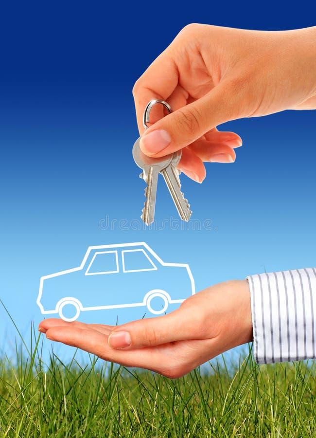 Kaufen Sie Neuwagen. lizenzfreie stockfotos