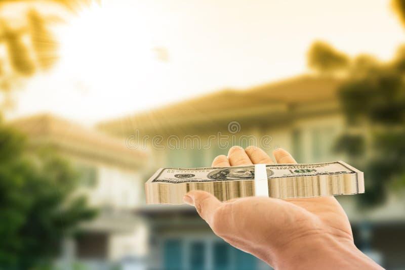 Kaufende Haupt-Immobilien der Investition lizenzfreies stockbild