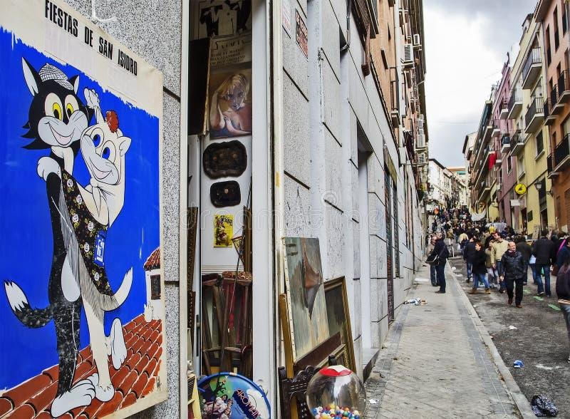 Kaufende traditionelle Straße