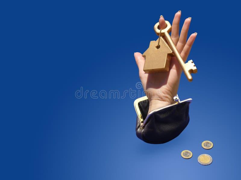 Kaufendes Hauskonzept lizenzfreies stockfoto