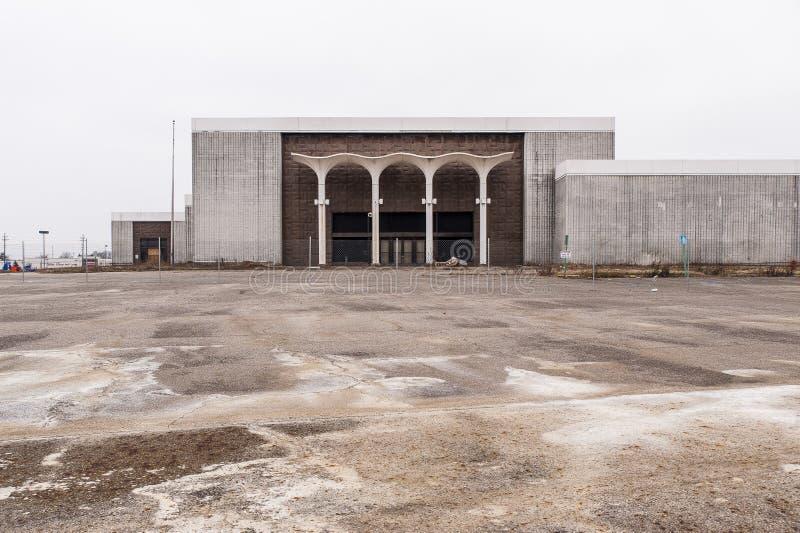 Kaufhaus - verlassener Randall Park Mall - Cleveland, Ohio lizenzfreie stockfotos