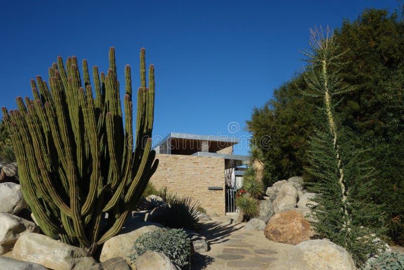Kaufmann House; Design moderno per l'Iconic Palm Springs di Richard Neutra fotografie stock libere da diritti