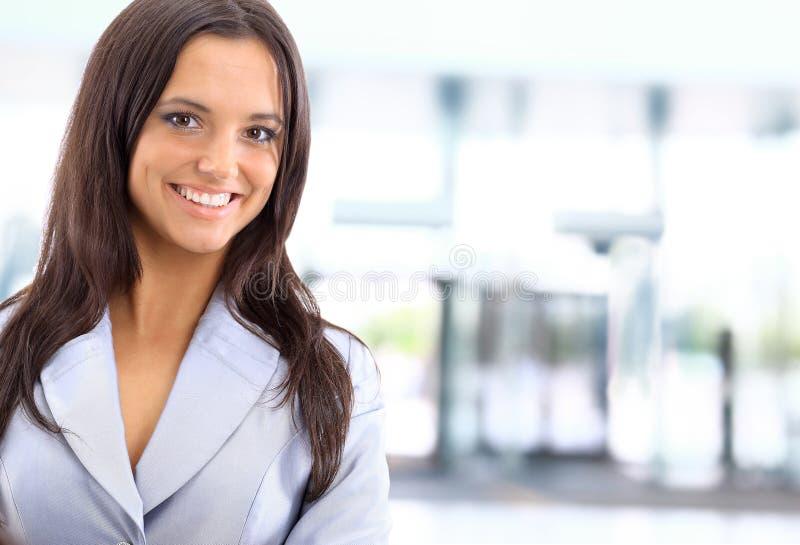 Kaukasische Geschäftsfrau lizenzfreie stockfotografie
