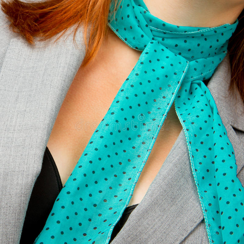 Download Kaukasische Geschäftsfrau Mit Einem Schal Stockfoto - Bild von geschäftsfrau, haar: 26361108