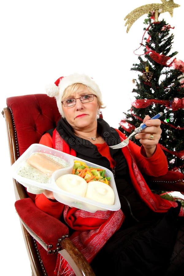 Kaukasische mittlere gealterte Frau, Einsamkeit lizenzfreie stockfotos
