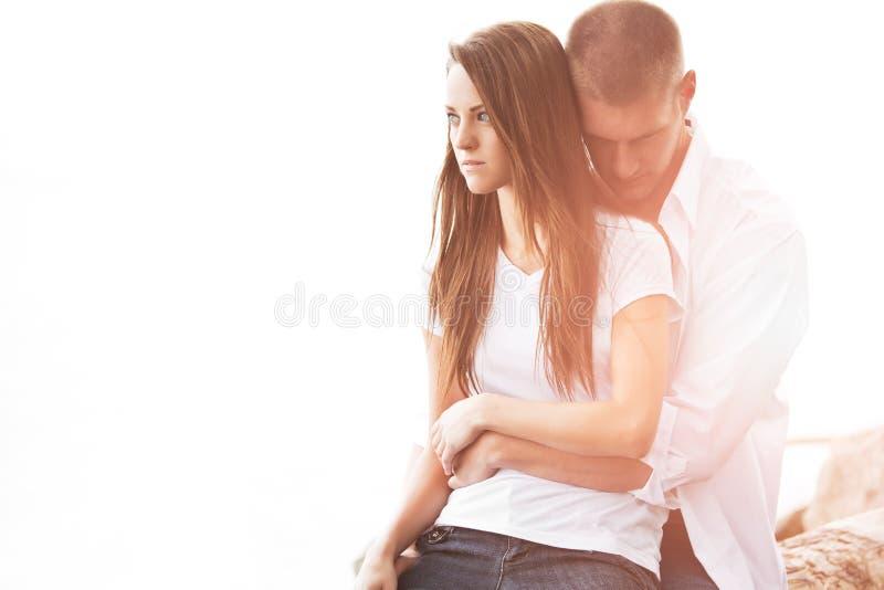 Kaukasische Paare stockbild