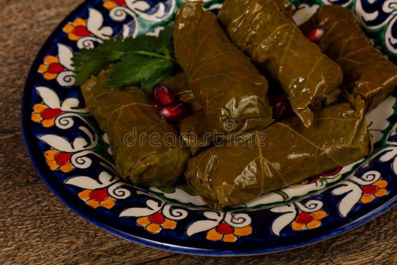 Kaukaski tradycyjny dolma zdjęcia stock