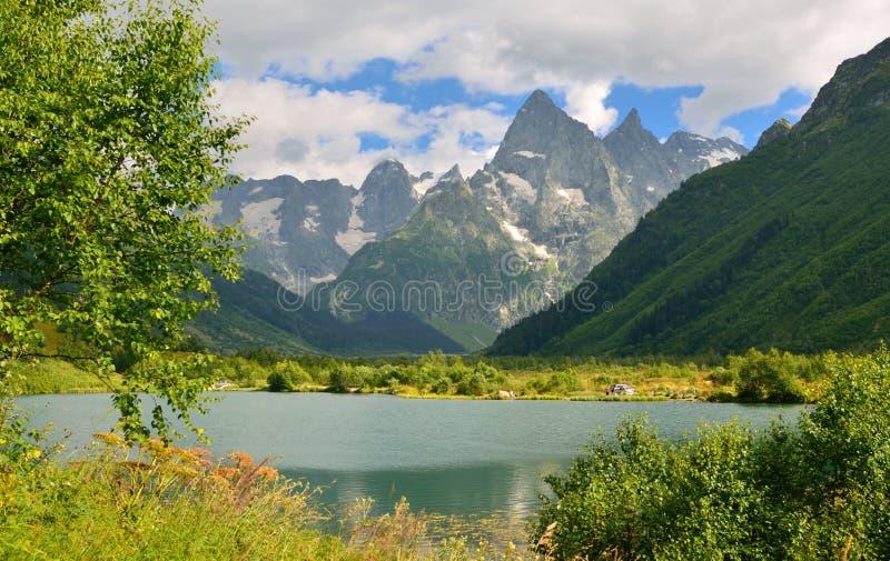 Kaukasus arkivfoton