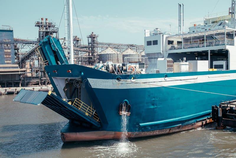 Kaukasus-Hafen Russland stockfotos