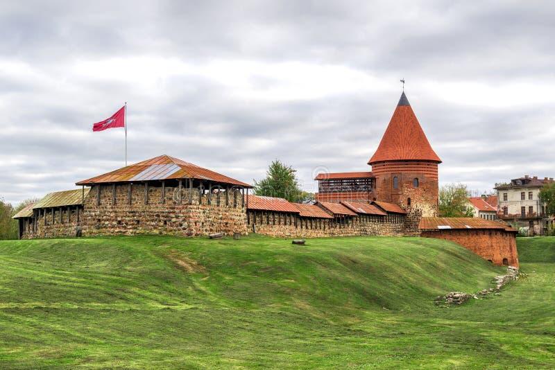 Kaunas το παλαιό Castle, Λιθουανία στοκ εικόνα