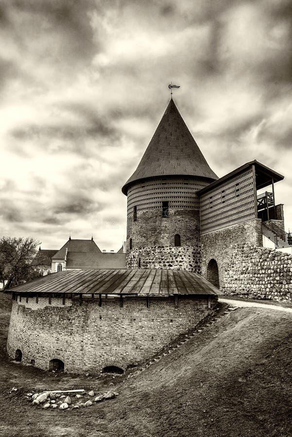 Kaunas το παλαιό Castle, Λιθουανία στοκ φωτογραφία με δικαίωμα ελεύθερης χρήσης