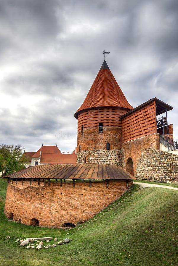 Kaunas το παλαιό Castle, Λιθουανία στοκ φωτογραφίες
