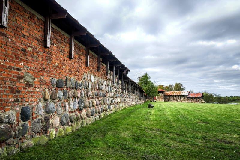 Kaunas το παλαιό Castle, Λιθουανία στοκ φωτογραφίες με δικαίωμα ελεύθερης χρήσης