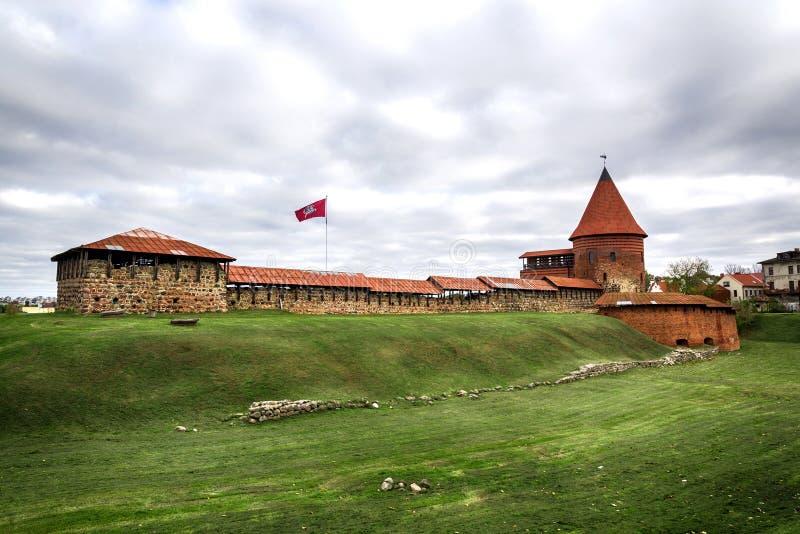 Kaunas το παλαιό Castle, Λιθουανία στοκ εικόνες