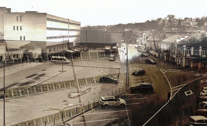 Kaunas area stock image