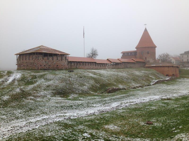 Kaunas Castle στοκ φωτογραφίες με δικαίωμα ελεύθερης χρήσης