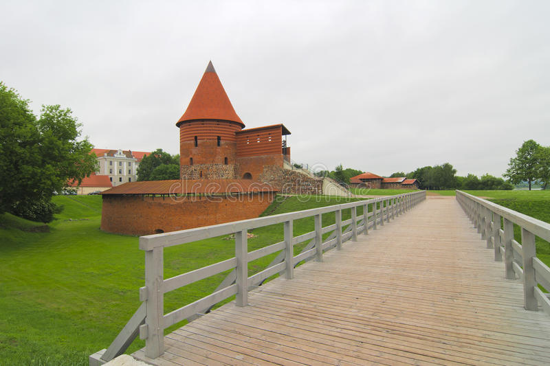 Download Kaunas Castle stock photo. Image of building, reconstructed - 25619230