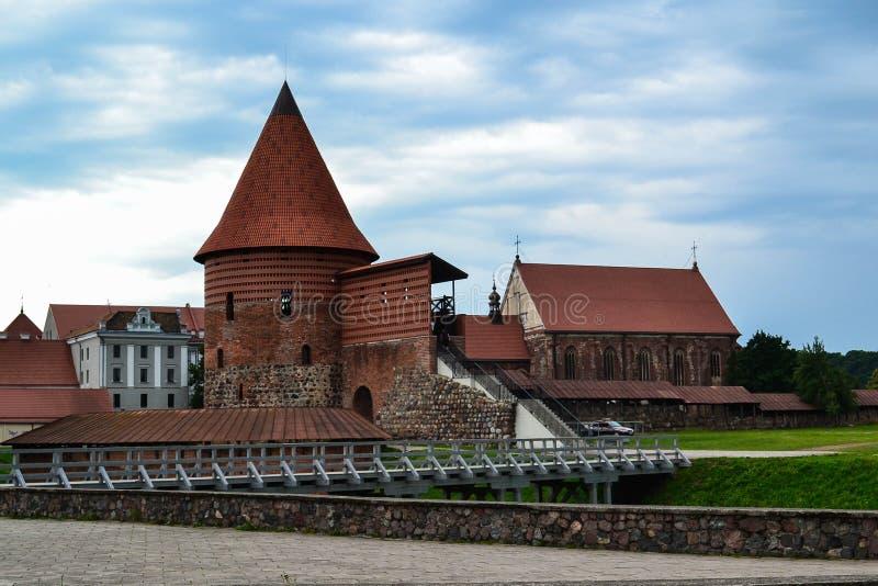 Kaunas castle. Gothic castle in Kaunas, Lithuania royalty free stock photos