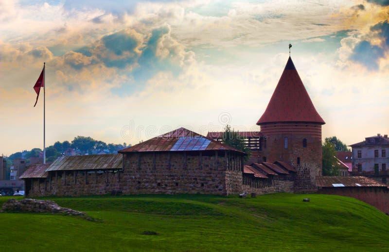 Kaunas Castle royalty free stock photos