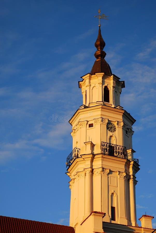 Free Kaunas City Hall Tower Royalty Free Stock Photo - 22679775