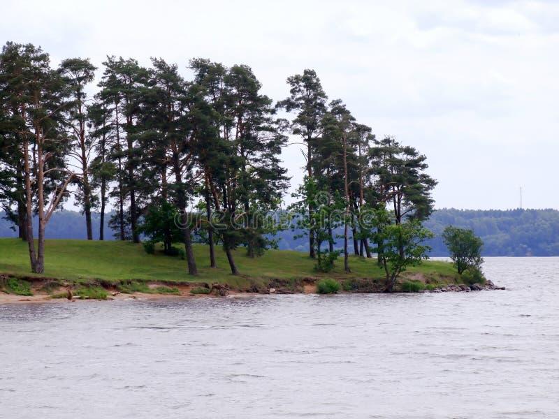 Download Kaunas Kunstmatige Overzees - Nemunas-rivierwaterkering Stock Afbeelding - Afbeelding bestaande uit kunstmatig, zand: 39103585