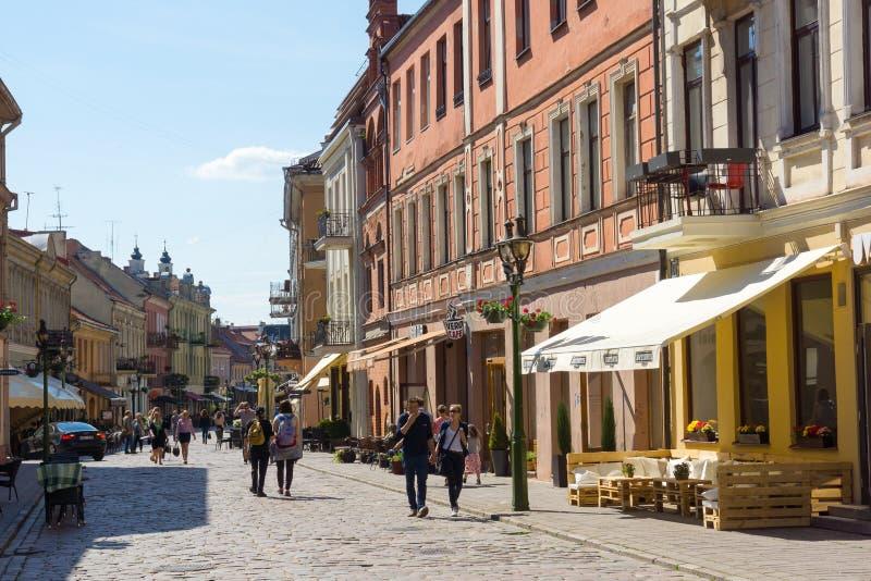 Kaunas, Lithuania obrazy stock