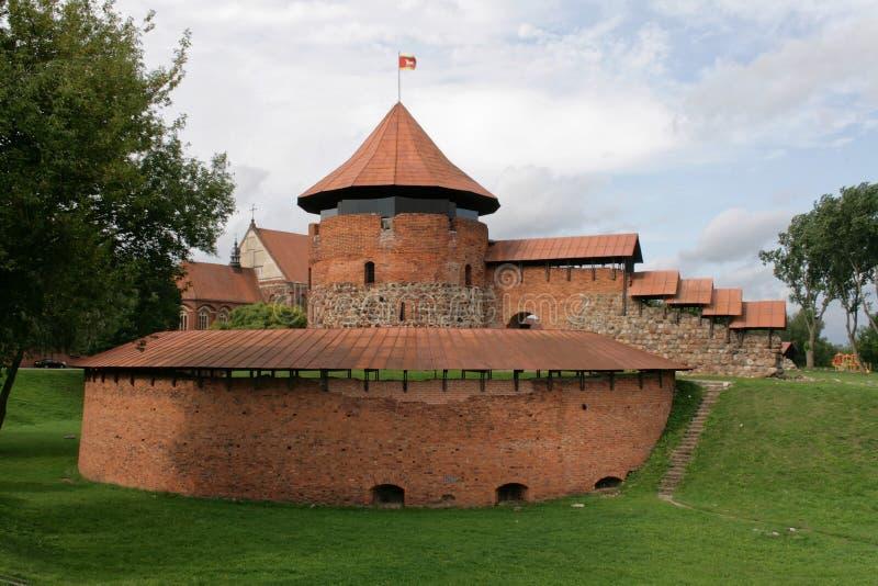 Kaunas, Lithuanie - château images libres de droits