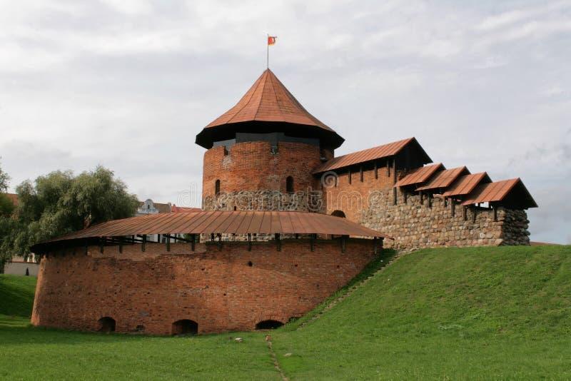 Kaunas, Lithuanie - château photos libres de droits