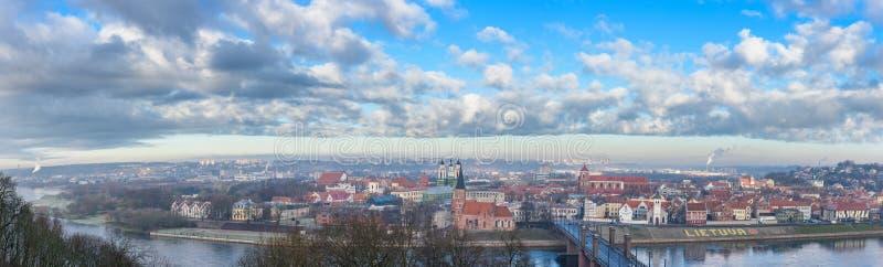 Kaunas, Litouwen stock afbeelding