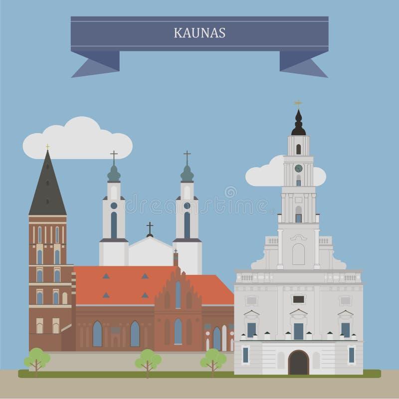 Kaunas, Lituania libre illustration