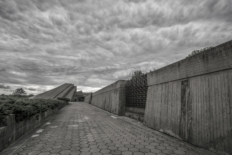 Kaunas Negende Fort stock foto