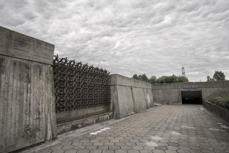 Kaunas Negende Fort stock foto's
