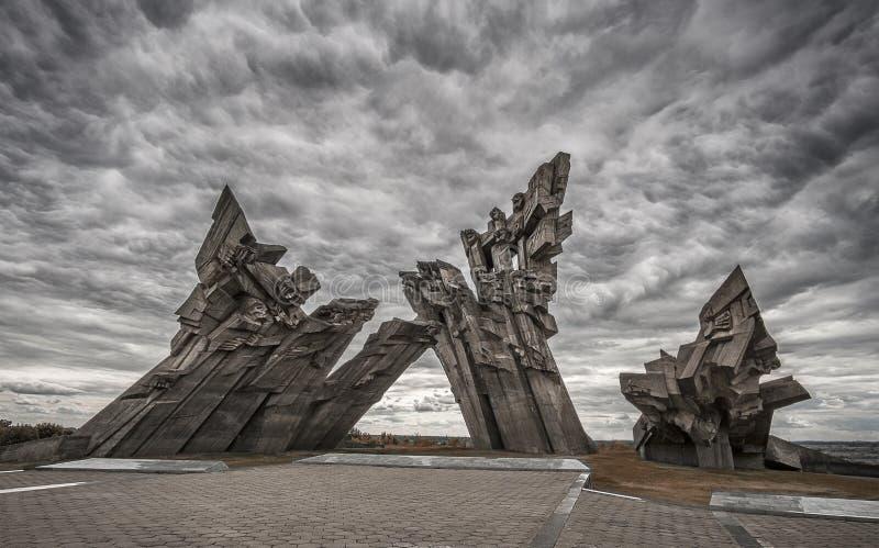 Kaunas Negende Fort royalty-vrije stock afbeeldingen