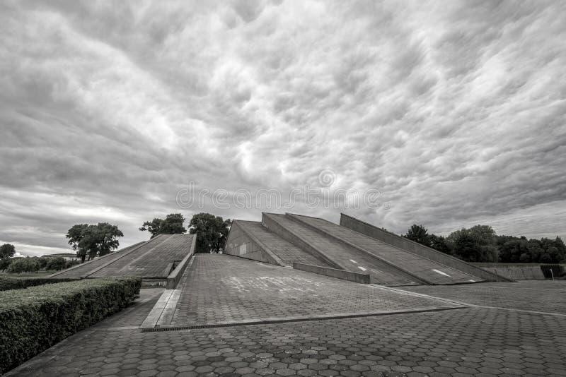 Kaunas Ninth Fort. The museum at Kaunas Ninth Fort royalty free stock image