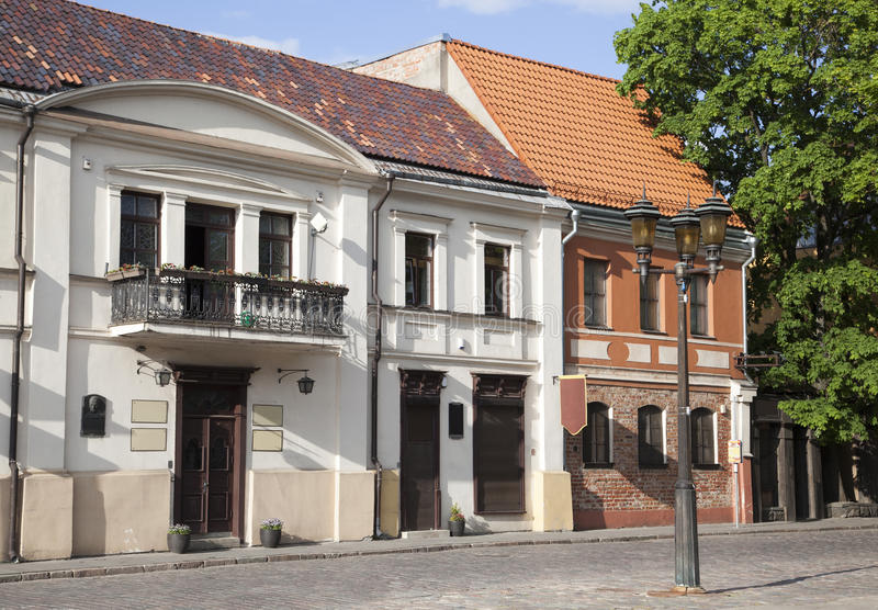 Kaunas Old Town royalty free stock images