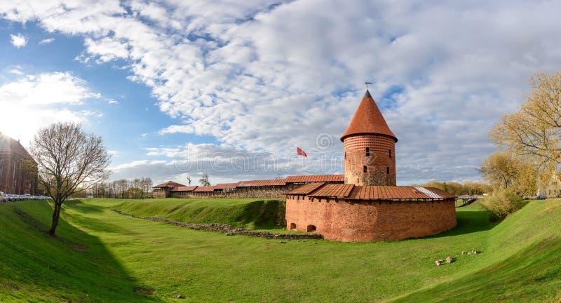 Kaunas slott, Litauen arkivbild