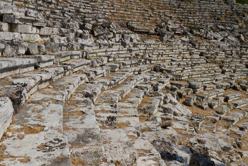 Download Kaunos Amphitheatre  From Dalyan Stock Photo - Image: 27104500