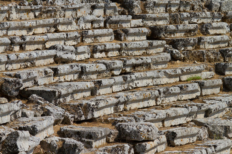 Download Kaunos Amphitheatre  From Dalyan Stock Image - Image: 27104631