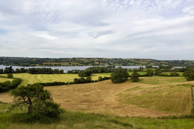 Kauw valleimeer, Somerset, het UK royalty-vrije stock foto's