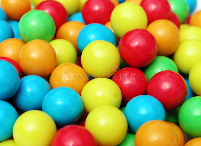 Kauwgom 4 stock afbeeldingen