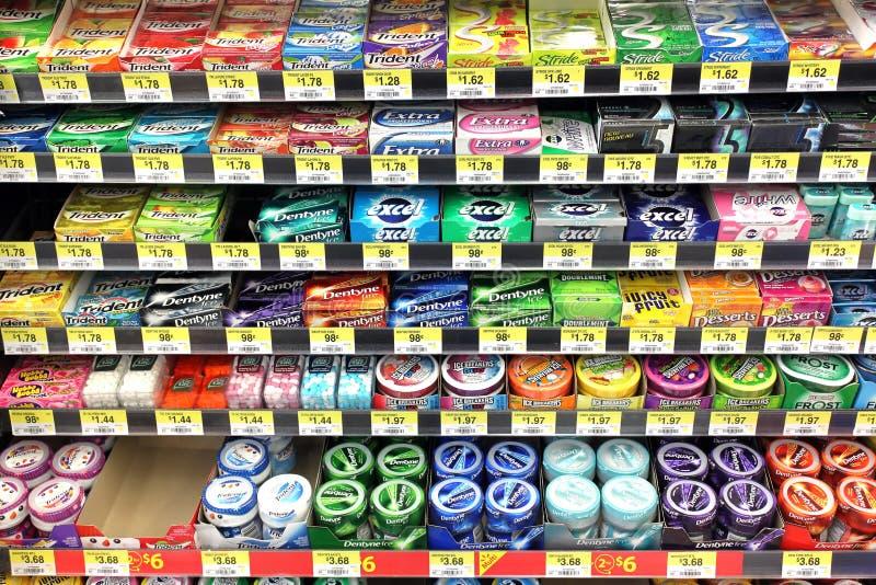 Kauwgom stock fotografie